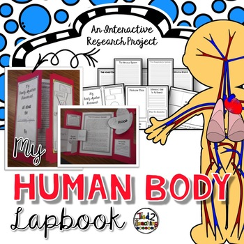 Human Body Research Report Lapbook