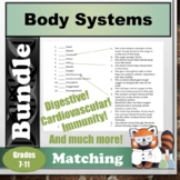 Body Systems Matching Bundle