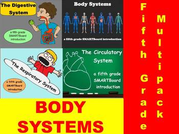 Body Systems Multipack - A Fifth Grade SMARTBoard Introduction