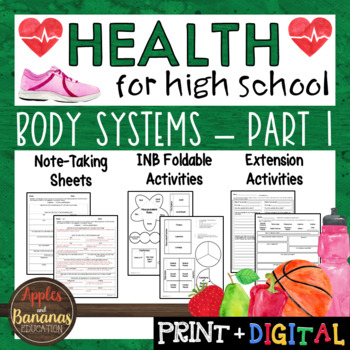 Body Systems - Part 1 - Interactive Note-Taking Materials