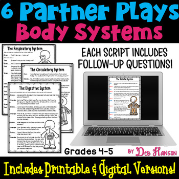 Body Systems Partner Plays