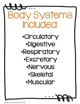 Body Systems Poster Set