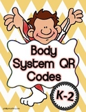 Body Systems QR Codes K-2