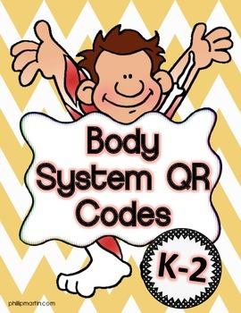 Body Systems QR Codes K-2