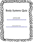 Body Systems Quiz FREE