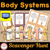 Body Systems Scavenger Hunt + Free BOOM Cards