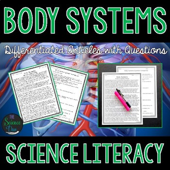 Body Systems - Science Literacy Article