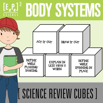 Body Systems Science Cubes