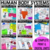 Body Systems: Skeletal, Circulatory, Nervous, Respiratory,