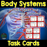 Body Systems Task Cards - Distance Learning Compatible