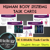 Body Systems Task Cards