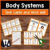 Body Systems Vocabulary Task Cards