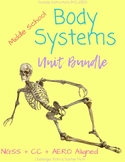 Body Systems UNIT   Middle School Science   NGSS Aligned