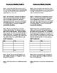 Body Systems Vocabulary Sheet