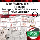Body Systems Warm Ups & Bell Ringers, NGSS, Print & Digita
