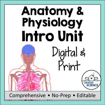 Intro to Anatomy: PowerPoint, Doodle Notes, & Game by Gnature with Gnat