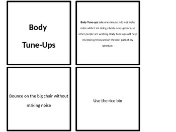 Body Tune-Up Cards