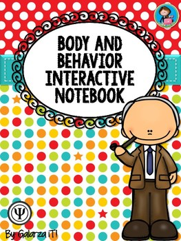 Body and Behaviour Interactive Notebook Activity bundle