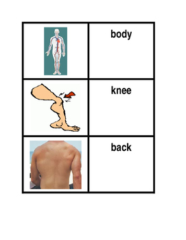 Body in English Concentration Games