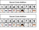 Body part secret code addition