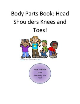 INTERACTIVE AND ADAPTED BODY PARTS BOOK WITH PICTURE CUES AND MATCHING ACTIVITY