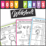 Body Parts Worksheets