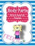 Body Parts - Word Search Puzzle