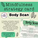 Body Scan - Mindfulness strategy card