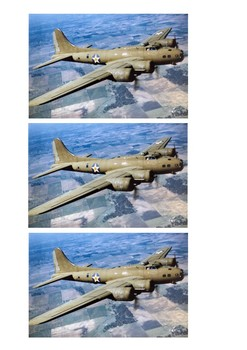 Boeing B-17 Flying Fortress - World War Two Word Search