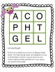 Boggle Activity Packet - Owl Theme
