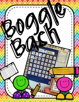 Boggle Bash Game!  Fun and Ready to Use!