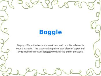 Boggle Board