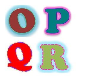 Boggle Board Letters - Original Designs