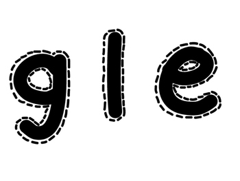 Boggle Board Sign - FREEBIE