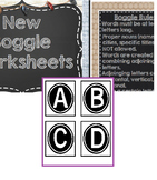 Boggle Bulletin Board Printables