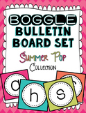 Boggle Bulletin Board Set - Summer Pop Collection