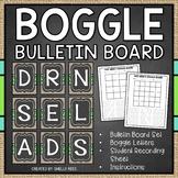 Boggle - Chalkboard and Burlap Theme - Bulletin Board Set