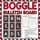 Boggle - Chevron and Chalkboard Packet - Bulletin Board Set - Center Work