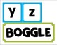 Boggle Complete Package (40 Weekly Worksheets & Boggle Board Letters & Heading)
