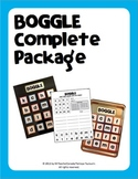 Boggle Complete Package (40 Weekly Worksheets & Boggle Boa