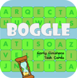 Boggle - Early Finishers Task Cards