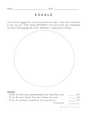 """""""Boggle"""" For Classroom Movies and Videos Worksheet / Activity"""
