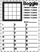 Boggle Form! 7 different versions!