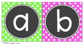Boggle Game for Classroom Display - Bright Colours