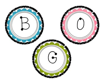 Boggle Game for the Bulletin Board