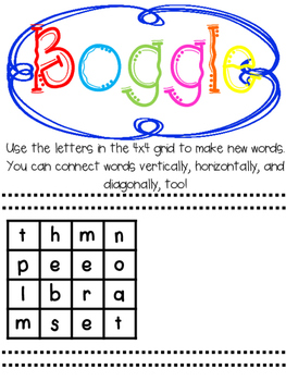 Boggle Games {{For Google Drive}}