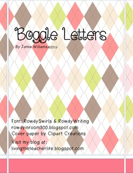 Boggle® Letters