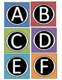 Boggle Letters-Colored