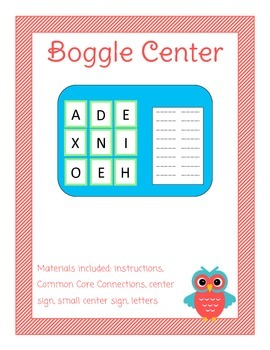 Boggle Library Center