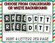 Boggle - Lime & Teal Chevron Chalkboard Packet - Bulletin Board Set